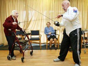 old fencer